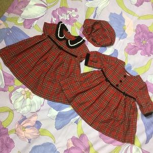 Like New Jessica Ann 3 piece Baby Christmas dress